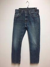 Levi's Vintage 505 Men's Jeans Zip Fly Straight Blue Denim Size 30 x 30
