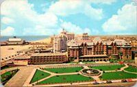 Postcard New Jersey Atlantic City Marlborough-Blenheim Resort Hotel Vintage H-9