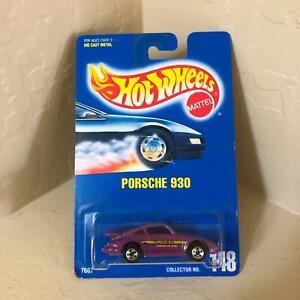 Hot Wheels Mattel Turbo Porsche 930 Collector #148 Purple RARE!! V9