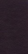 Italian Full Leather Hide Colour Black Leno