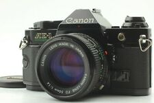 [Mint] Canon AE-1 PROGRAM SLR 35mm Film Camera + New FD NFD 50mm F1.4 Lens Japan