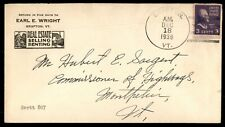Mayfairstamps US AD COVER 1939 VERMONT GRAFTON REAL ESTATE wwe11523