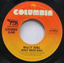 Rock 45 Billy Joel - Root Beer Rag / Big Shot On Columbia