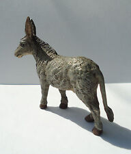 Vienna Austria Cold Painted Bronze Bergman Donkey Burro Stamped Great Condition!