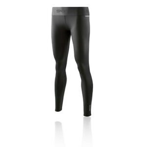 Skins Womens DNAmic Primary Compression Long Tights Bottoms Pants Trousers Black