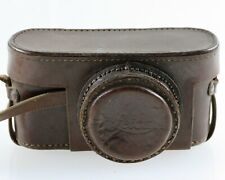 Leica Bereitschaftstasche Echtleder  braun