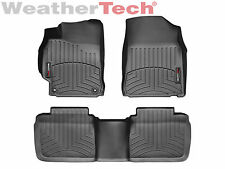 WeatherTech FloorLiner Mats for Toyota Camry - 2012-2014.5 -1st/2nd Row - Black