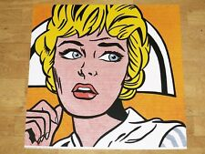 """ROY LICHTENSTEIN POSTER """" NURSE 1964 """" POPART ORIGINAL PLAKAT SILKSCREEN"""