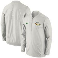 mens 3XL or 4XL niKe oregon ducks coaches 1/2 half zip sideline lockdown jacket