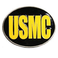 """3""""x2"""" Usmc Belt Buckle U.S. Marine Corps -"""
