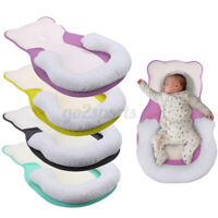 2 in 1 Infant Pillow Newborn Anti Flat Head Syndrome Crib Cot Bed Neck   !!