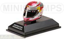 Arai Helmet Sebastian Vettel Hockenheim 2010 World Champion 1:8 Minichamps