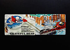 Grateful Dead Backstage Pass Puzzle Winter Snowmobile Sled Oakland 12/27,28/1990