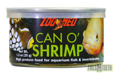 Zoo Med Can O' Shrimp 35g - High Protein Treats for Fish & Invertebrates