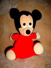 VINTAGE APPLAUSE RED MICKEY MOUSE STUFFED ANIMAL TOY