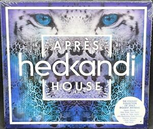HED KANDI - APRES HOUSE, VARIOUS ARTISTS, DOUBLE CD ALBUM, (2016) *NEW / SEALED*