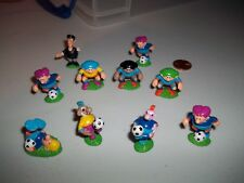 Frufoo Mini Football Soccer figure Set x 10, Onken, Kinder Surprise Egg
