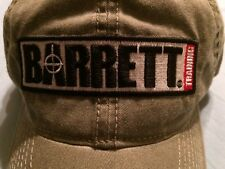 Barrett TRAINING Hat tactical sniper USA Flag firearms rifle cap 50 cal military
