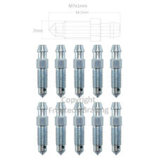 10x M7x1mm x 34.5mm Long - Brake bleed nipples Bleed screws N44X10