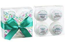 4pcs bath bombs - Meditative serene soul gift set