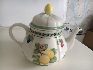 Villeroy & Boch French Garden Fleurence Teekanne 1l