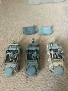 FORCES OF VALOR GERMAN SCHWIMMWAGEN 166 Lot Of 3 Unimax