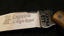 VINTAGE LAGUIOLE FRANCE 440 L'AIGLE ROYAL FRENCH FOLDING POCKET KNIFE CORKSCREW