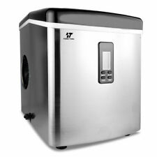 YongTong IM-15S Stainless Steel Portable Ice Maker