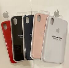 Apple Silicone Case for iPhone XS Max 100% Authentic Original