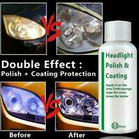 20ml Auto Headlight Polishing Fluid Restoration German Car Kit Scrat Repair P0B4
