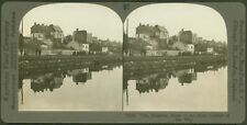 Vise, Belgium. Scene of the First Conflict of the War - WW1 Keystone Stereoview