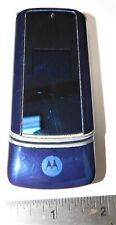 Motorola K1 KRZR AT&T Cell Phone (Blue) no batt.