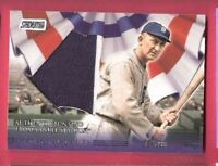 TY COBB 2008 TOPPS AUTHENTIC BUNTING FROM YANKEE STADIUM CARD #d DETROIT TIGERS