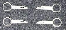 Audi Vw Mercedes Radio (4) Stereo Removal Tool Key T10057 Repair