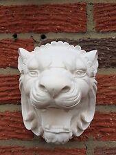 1 Architectural décoré Lion Plâtre Mur Décoratif Suspendu Plaque très détaillé