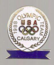 1988 Team USA Olympic Pin Calgary Rings