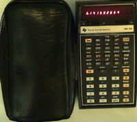 [Vintage Texas Instruments] TI Red LED Programmable Scientific Calculator SR-56