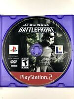 FREE SHIPPING! Star Wars Battlefront Greatest Hits Sony PlayStation 2 Disc Only