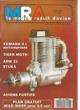 MRA N°593 LES AVIONS DISCRETS / WILD WASP / STUKA JU 87 / ASW 22 / RADIOCOMMANDE