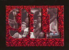 1997-98 NBA Hoops 911 Michael Jordan Chicago Bulls HOF