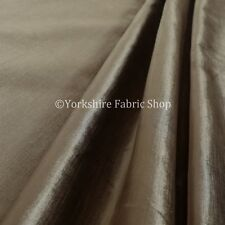 Soft Smooth Silk Effect Luxury Velvet Bronze Brown Gold Colour Upholstery Fabric