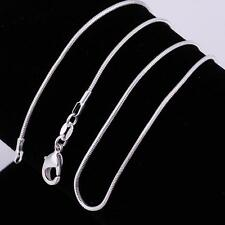 20 Inch Necklace 925 Italian Sterling Silver