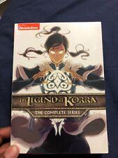The Legend of Korra: Complete Series. DVD.