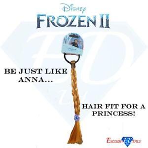 Disney's Frozen 2 Children's Anna Hair Extension Bobble Princess (Approx. 28cm)
