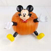 Gemmy Disney Mickey Mouse Vampire Plastic Halloween Pumpkin