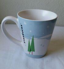 Nice STARBUCKS 2011 Winter Scene Coffee Tea Mug