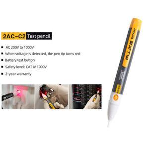 FLUKE 2AC-C2 Voltage Detector Tester Meter Multifunctional Portable Test Pencil