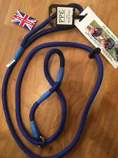 handy halter lead (dog training aid ) in  blue
