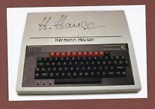 Hermann Hauser .. Östereich. Ingenieur, Computer- und Risikokapital-Unternehmer