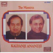 LOS MAESTROS - KALYANJI & anandji - Banda Sonora CD –